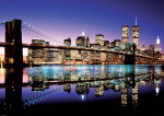 Brooklyn Bridge (Colour) by Anonymous