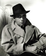 Humphrey Bogart (raincoat) by George Hurrell