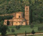 Abbazia di Sant' Antimo outside of Montalcino in Tuscany, Italy by Danita Delimont