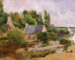 Les Lavandieres a Pont-Aven by Paul Gauguin