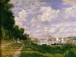 The lake at Argenteuil, c. 1872 by Claude Monet