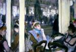 Femmes a la terrasse d'un café