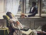 Sweets to the Sweet (Restrike Etching) by Edmund Blair Leighton