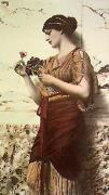 Crytilla (Restrike Etching) by John William Godward