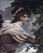 Honeysuckle Girl, The (Restrike Etching) by Anonymous
