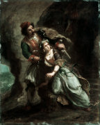 The Bride of Abydos by Eugene Delacroix