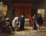 Mary Stuart's death sentence by Jean-Baptiste Vermay