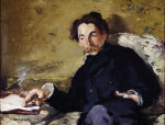 Stephane Mallarme by Edouard Manet