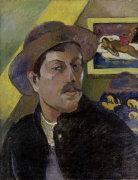 Paul Gauguin self-portrait by Paul Gauguin