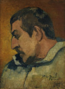 Paul Gauguin self-portrait by Paul Gauguin