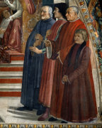Confirmation of St Francis by Domenico Bigordi Ghirlandaio