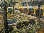 Garden of the hospital at Arles