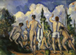 Bathers by Paul Cezanne