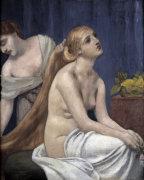 Lady at her toilette by Pierre Puvis de Chavannes