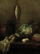Still-life (I) by Jean Baptiste Chardin