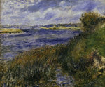The Seine at Champrosay by Pierre Auguste Renoir