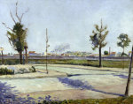Road to Gennevilliers by Paul Signac