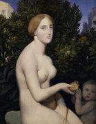 Venus on Paphos by Jean-Auguste-Dominique Ingres