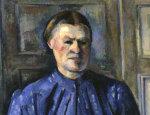 Woman with coffee pot by Paul Cezanne