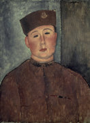The Zouave by Amedeo Modigliani