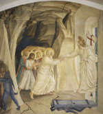 Christ in Limbo by Attributed to Fra Angelico