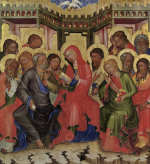 Effusion of the Holy Ghost by Master of Hohenfurth