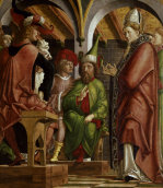 Disputation of St.Augustine with heretics