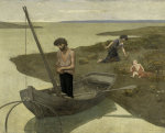 The Poor Fisherman by Pierre Puvis de Chavannes
