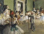 The Dancing Class c.1873
