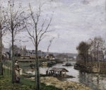 Port-Marly by Camille Pissarro