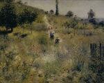 Chemin montant dans les hautes herbes by Pierre Auguste Renoir