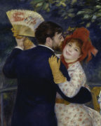 Dance in the Country (Detail) by Pierre Auguste Renoir