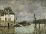 Flood of Port-Marly by Alfred Sisley
