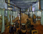Ward in the Arles Hospital by Vincent Van Gogh