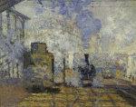 Gare Saint-Lazare by Claude Monet