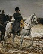 Campagne de France Napoleon (close-up) by Jean-Louis Ernest Meissonier