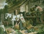 Preparing for Market (Restrike Etching) by Francis Wheatley