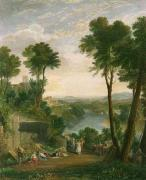 Mercury & Herse (Restrike Etching) by Joseph Mallord William Turner