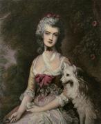 Mrs Robinson (Restrike Etching) by Thomas Gainsborough