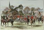 Quorn Hunt at Brooksby (Restrike Etching) by Sturgess