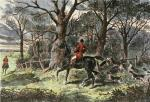 Run to Earth (Restrike Etching) by Robert F. Sargent