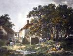 Village Inn (Restrike Etching) by George Morland