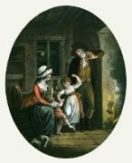 Night (Restrike Etching) by William Hamilton