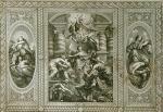 Whitehall Ceilings Pl.I (Restrike Etching) by Peter Paul Rubens