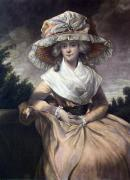 Mrs Drummond Smith (Restrike Etching) by George Romney