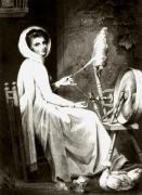 Lady Hamilton (Restrike Etching) by George Romney