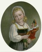 Joy (Restrike Etching) by Thomas Francis Dicksee