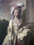 Mrs. Graham (Restrike Etching) by Thomas Gainsborough