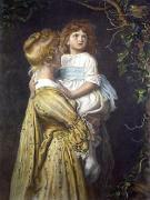 The Nest (Restrike Etching) by Sir John Everett Millais