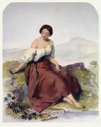 Mountain Daisy (Restrike Etching) by A. Bouvier